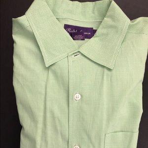 Ralph Lauren Purple Label L/S Shirt Bright Green M